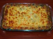 Patates Püreli Ispanaklı Graten