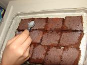 Ağlayan Pasta (Ev Brownisi)