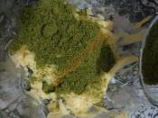 Fıstıklı Yeşil Kurabiye