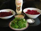 Narlı Pancar Salatası
