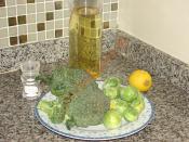 Brüksel Lahanası ve Brokoli Salatası