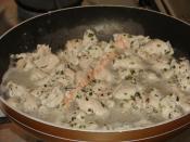 Çörek Otlu, Susamlı Tavuk Sote (Yağsız, Sütle Marine Edilmiş)