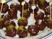 Fındıklı Çikolata Topları