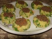 Potato Ravioli With Minced Meat Recipe