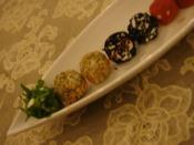 Renkli Peynir Topları