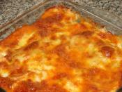 Peynirli Fırında Makarna
