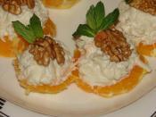 Kerevizli Portakal Kanepeleri (Kereviz Salatası)