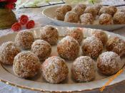 Bisküvili Havuç Topları