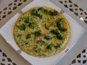 Brokolili Omlet
