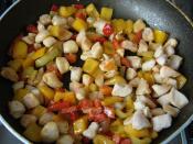 Kızartılmış Nohut Salatası