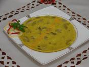 Kremalı Mantarlı Omlet