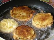 Peynirli Patlıcan Kızartması