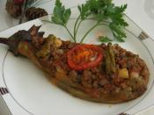 Köz Patlıcanlı Karnıyarık