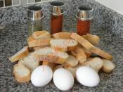 Sade Ve Baharatlı Yumurtalı Ekmek