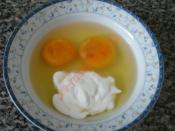 Kremalı Soğanlı Yumurta