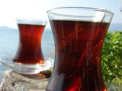 Odun Semaverinde Demleme Çay