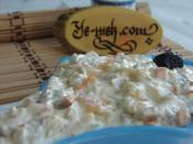 Sebzeli Tavuk Salatası (Dukan Usulü)
