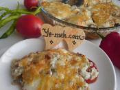 Kıymalı Mantarlı Patates Oturtma