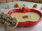 Fesleğenli Kremalı Patates Çorbası