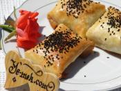 Garnitürlü Zarf Böreği (Hazır Yufka İle)