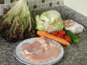 Izgara Tavuklu Salata (Dukan Usulü)