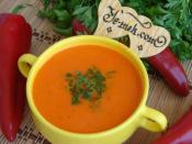 Kırmızı Biber Çorbası
