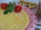 Kaşarlı Sütlü Omlet
