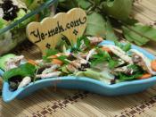 Mevsim Yeşillikli Palamut Salatası