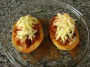 Tavuklu Patates Dolması