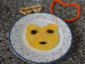 Çocuklar İçin Ayıcıklı Omlet