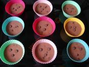 Çikolata Parçacıklı Kakaolu Muffin
