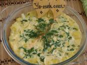Fırında Lorlu Patatesli Omlet