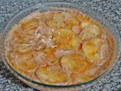 Fırında Sütlü Patates
