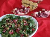 Narlı Ispanak Salatası