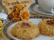 Shredded Wheat Dessert With Walnut Recipe