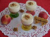 Elmalı Muhallebi Kupları