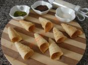 Puff Pastry Cones Recipe