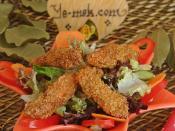 Susamlı Tavuk Salatası