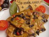 Zeytinli Omlet