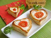 Puff Pastry Hearts With Labneh Recipe