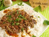 Kebab with Yogurt (Alinazik Kebab) Recipe (From Turkish Cuisine)