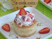 Strawberry Cream Vol-au-vents Recipes