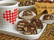 Biscuits Mosaic Cake Snacks Recipe
