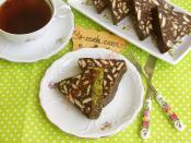 Biscuits Mosaic Cake Recipe