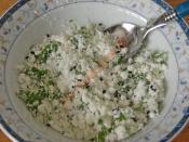 Peynirli Salatalık Dolması