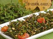 Zahter Salatası (Kekik Salatası)