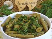 Fresh Broad Beans with Olive Oil Recipe (Turkish Cuisine)