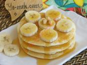 Banana Pancakes with Honey Recipe