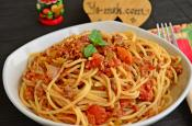 Spaghetti With Bolognese Sauce Recipe