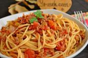 Bolonez Soslu Spagetti